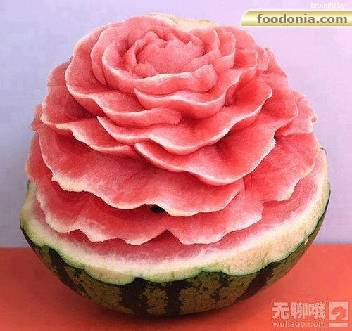 foodonia   watermelon-flower